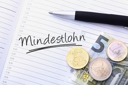 Informationsblatt Zur Einführung Des Gesetzlichen Mindestlohnes  Ab 01.01.2015